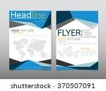 business brochure flyer design...   Shutterstock .eps vector #370507091
