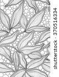 vintage floral backgrounds.... | Shutterstock .eps vector #370516334