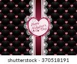 valentine card | Shutterstock .eps vector #370518191