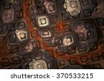 abstract shining puzzles on...   Shutterstock . vector #370533215