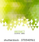 vector abstract green geometric ... | Shutterstock .eps vector #370540961