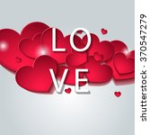 love. designed for the day of... | Shutterstock .eps vector #370547279