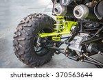selective focus wheel and shock ...   Shutterstock . vector #370563644