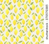 seamless watercolor pattern on... | Shutterstock . vector #370570385