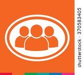 user icon illustration design | Shutterstock .eps vector #370583405