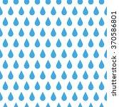 rain drop pattern. drops... | Shutterstock .eps vector #370586801