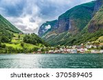 scenic summer panorama of the... | Shutterstock . vector #370589405