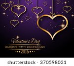 valentine's day background for... | Shutterstock .eps vector #370598021