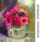 Still Life A Bouquet Of Flower...