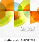geometric design abstract... | Shutterstock .eps vector #370603904