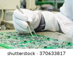 quality control and assembly of ... | Shutterstock . vector #370633817
