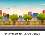 seamless street city landscape...