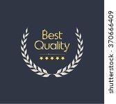 laurel wreath vector with five... | Shutterstock .eps vector #370666409