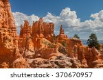 bryce canyon | Shutterstock . vector #370670957