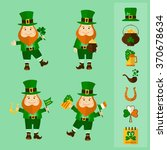Saint Patrick's Day Set. Four...