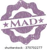 mad rubber grunge texture stamp