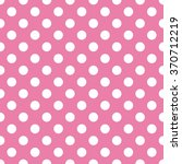 polka dot background   pink and ... | Shutterstock .eps vector #370712219