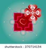 vector artwork for valentine's...   Shutterstock .eps vector #370714154