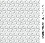 pyramids white pattern. vector | Shutterstock .eps vector #370718771