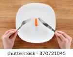 concept of dieting  healthy...   Shutterstock . vector #370721045