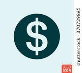 dollar money icon. minimal icon ...