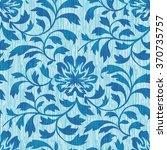 oriental foliage pattern...   Shutterstock .eps vector #370735757