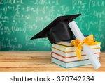 graduation. | Shutterstock . vector #370742234