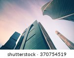 high rise buildings in city... | Shutterstock . vector #370754519