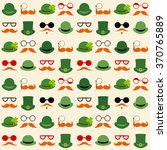 seamless vector pattern with... | Shutterstock .eps vector #370765889