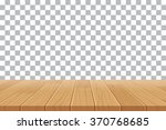 vector wood table top on... | Shutterstock .eps vector #370768685