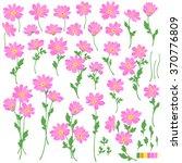 flower illustration object | Shutterstock .eps vector #370776809