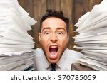 emotional stress. | Shutterstock . vector #370785059