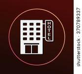 hotel icon | Shutterstock .eps vector #370789337
