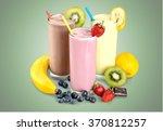 milk. | Shutterstock . vector #370812257