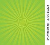 Green Sunburst. Element For We...
