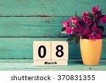 Wooden March 8 Calendar  Next...