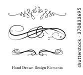 vector design element ... | Shutterstock .eps vector #370833695