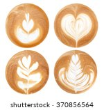 4 Shapes Of Latte Art Styles On ...