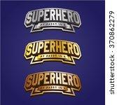 super hero power full... | Shutterstock .eps vector #370862279