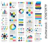 mega set of infographics... | Shutterstock .eps vector #370873979
