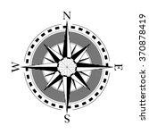 compass navigation dial  ... | Shutterstock .eps vector #370878419