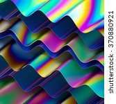 abstract holographic layers... | Shutterstock . vector #370880921