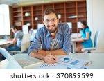 modern businessman | Shutterstock . vector #370899599