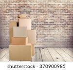 box. | Shutterstock . vector #370900985