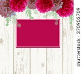 marriage card background with... | Shutterstock .eps vector #370903709
