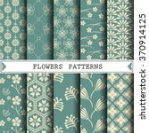 Flower Vector Pattern Pattern...