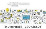 flat style  thin line art...   Shutterstock .eps vector #370926605