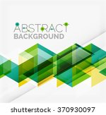 vector triangle background | Shutterstock .eps vector #370930097