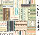 vector seamless patchwork... | Shutterstock .eps vector #370933931