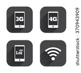 mobile telecommunications icons.... | Shutterstock .eps vector #370943909